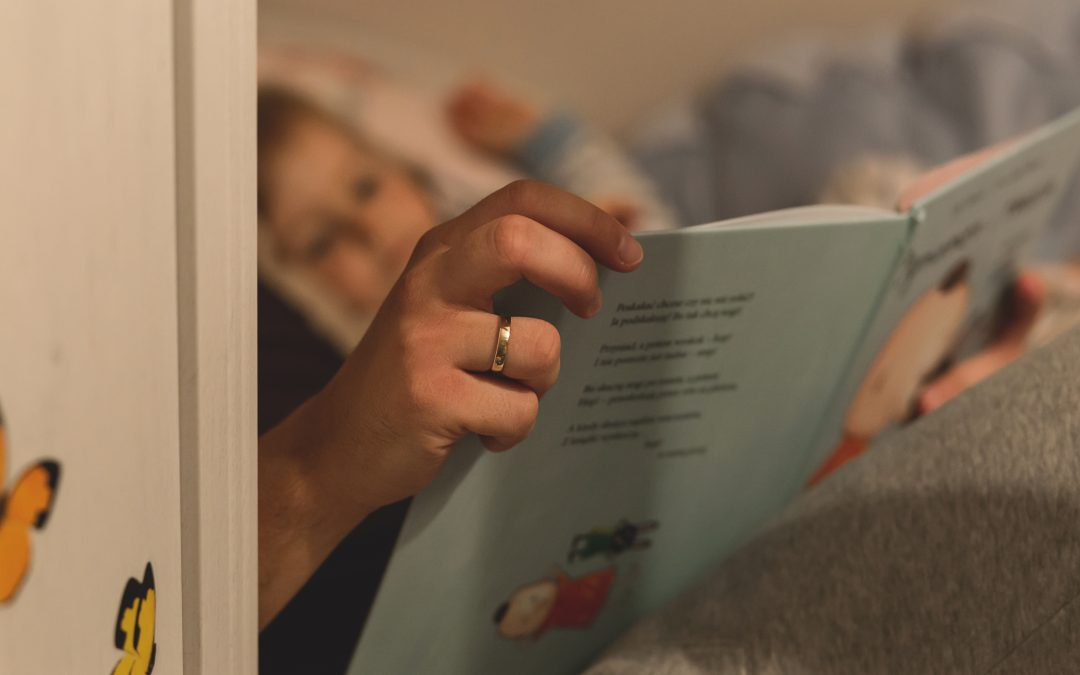 Getting to the End of Bedtime Stories {How to Embrace the Interruptions}